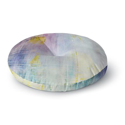 Iris Lehnhardt Color Grunge Round Floor Pillow Size: 26 x 26