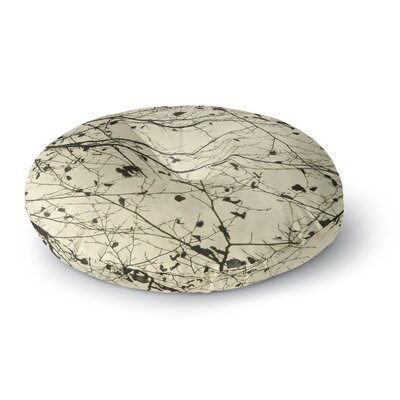 Iris Lehnhardt Boughs Neutral Round Floor Pillow Size: 23 x 23