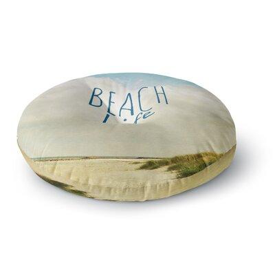 Iris Lehnhardt Beach Life Beach Round Floor Pillow Size: 26 x 26