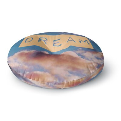 Iris Lehnhardt DREAM Clouds Round Floor Pillow Size: 26