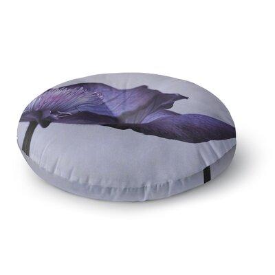Iris Lehnhardt Indigo Sky Round Floor Pillow Size: 23 x 23