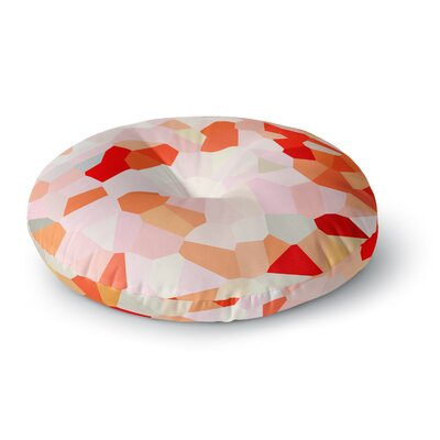 Iris Lehnhardt Oooh La La Pixel Round Floor Pillow Size: 26 x 26