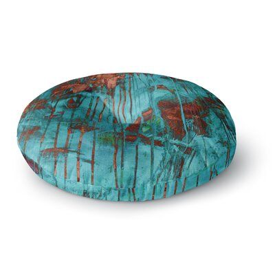 Iris Lehnhardt Rusty Paint Round Floor Pillow Size: 26 x 26