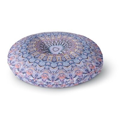 Iris Lehnhardt Summer Lace II Circle Round Floor Pillow Size: 23 x 23