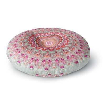 Iris Lehnhardt Summer Lace III Circle Round Floor Pillow Size: 26 x 26