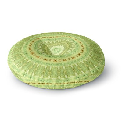 Iris Lehnhardt Wheel of Spring Circle Round Floor Pillow Size: 26 x 26