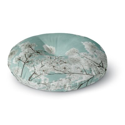 Iris Lehnhardt Flowering Season Round Floor Pillow Size: 23 x 23