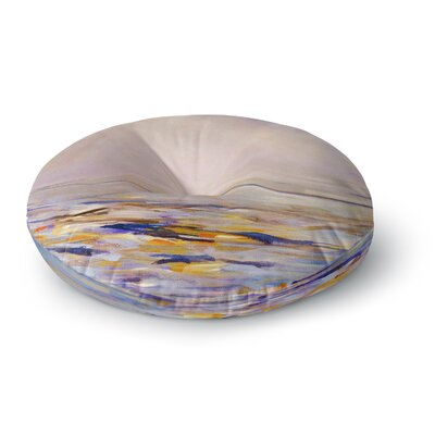 Iris Lehnhardt Hazy Sunrise Round Floor Pillow Size: 23 x 23