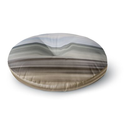 Iris Lehnhardt Abstract Beach Round Floor Pillow Size: 23 x 23