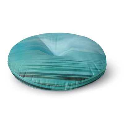 Iris Lehnhardt Calm Sea Round Floor Pillow Size: 26 x 26