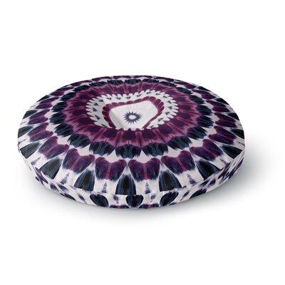 Iris Lehnhardt Batik Pattern Geometric Round Floor Pillow Size: 23 x 23