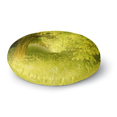 Iris Lehnhardt Summer Tree Round Floor Pillow Size: 26 x 26