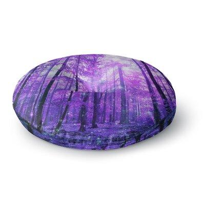 Iris Lehnhardt Magic Woods  Forest Round Floor Pillow Size: 23 x 23