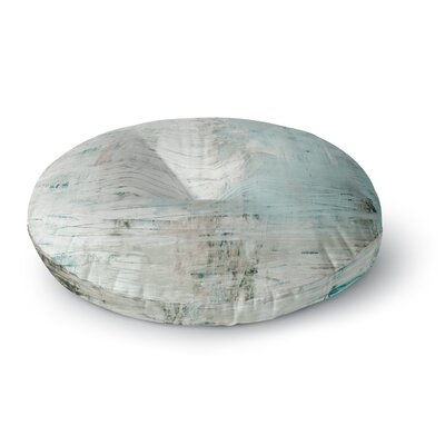 Iris Lehnhardt Bluish Neutral Round Floor Pillow Size: 26 x 26