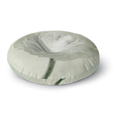 Iris Lehnhardt Whity Floral Round Floor Pillow Size: 26 x 26