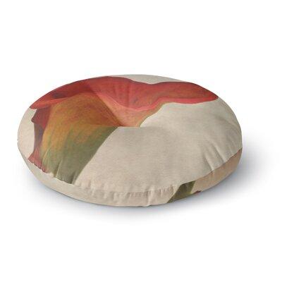 Iris Lehnhardt Calla Flower Round Floor Pillow Size: 23 x 23