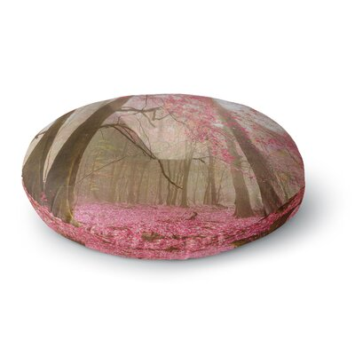 Iris Lehnhardt Atmospheric Autumn Round Floor Pillow Size: 23 x 23