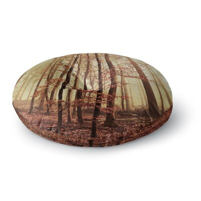 Iris Lehnhardt Autumn Again Round Floor Pillow Size: 23 x 23
