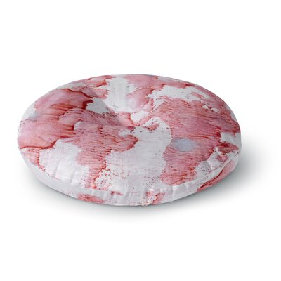 Iris Lehnhardt Soft Splashes Round Floor Pillow Size: 26 x 26