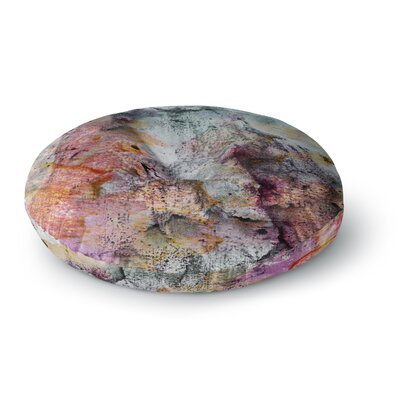 Iris Lehnhardt Floating Colors Round Floor Pillow Size: 23 x 23