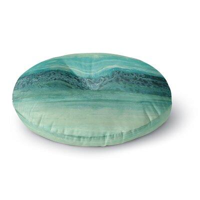 Iris Lehnhardt Oceanic Round Floor Pillow Size: 26 x 26