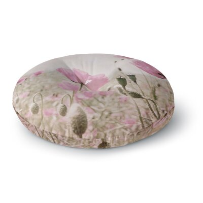Iris Lehnhardt Summer Dream Floral Round Floor Pillow Size: 26 x 26