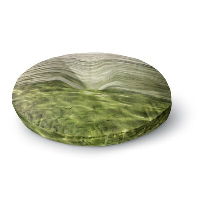 Iris Lehnhardt Mystic Sea Round Floor Pillow Size: 23 x 23