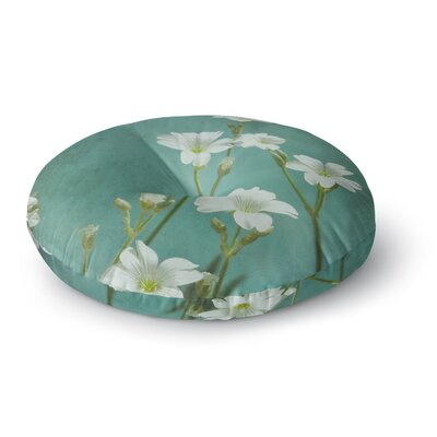 Iris Lehnhardt Into The Green Photography Round Floor Pillow Size: 23 x 23
