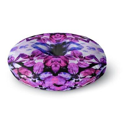Iris Lehnhardt Boho Floral Digital Round Floor Pillow Size: 26 x 26