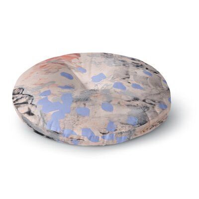 Iris Lehnhardt Mix Painting Round Floor Pillow Size: 23 x 23