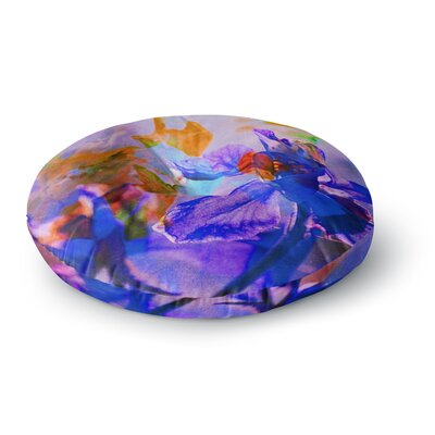 Iris Lehnhardt Floral Abstraction 5 Photography Round Floor Pillow Size: 26 x 26