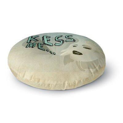 iRuz33 Kess Me Round Floor Pillow Size: 23 x 23