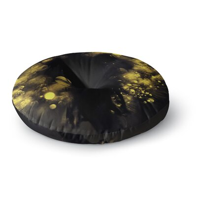Ingrid Beddoes Moonlight Dandelion Round Floor Pillow Size: 26 x 26