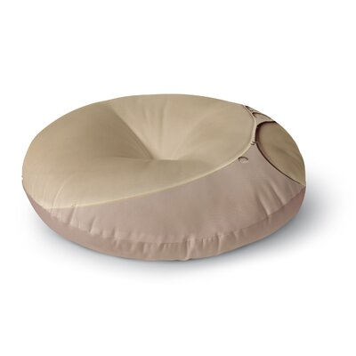 Ingrid Beddoes A Touch of Round Floor Pillow Size: 26 x 26