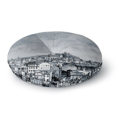 Ingrid Beddoes A Riberia City Round Floor Pillow Size: 23 x 23