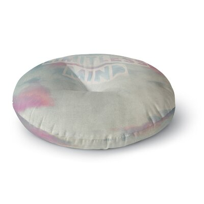 Ingrid Beddoes Limitless Mind Clouds Round Floor Pillow Size: 23 x 23