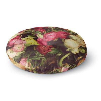 Jillian Audrey Ranunculus Round Floor Pillow Size: 23 x 23