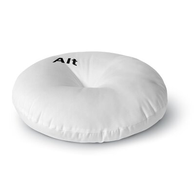 Jackie Rose Alt Round Floor Pillow Size: 26 x 26