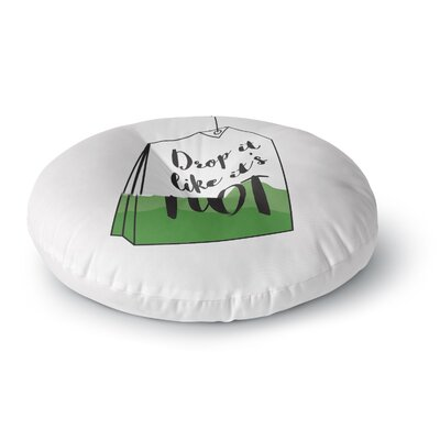 Jackie Rose Drop It Round Floor Pillow Size: 26 x 26