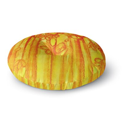 Ebi Emporium Summer Sentiments Round Floor Pillow Size: 23 x 23