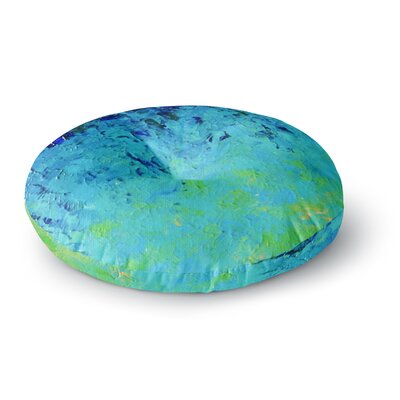 Ebi Emporium True Reflection Round Floor Pillow Size: 26 x 26
