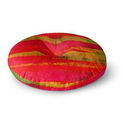 Ebi Emporium Fierce Round Floor Pillow Size: 26 x 26