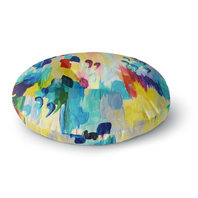 Ebi Emporium Dont Quote Me Round Floor Pillow Size: 23 x 23