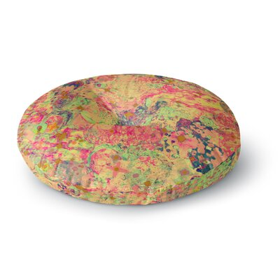 Ebi Emporium Time for Bubbly Round Floor Pillow Size: 26 x 26