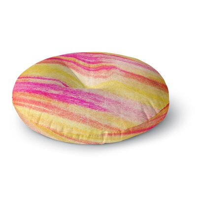 Ebi Emporium All That Jazz Round Floor Pillow Size: 26 x 26