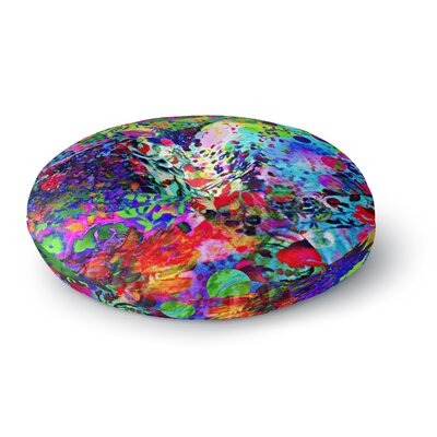 Ebi Emporium Jungle Fever Round Floor Pillow Size: 23 x 23
