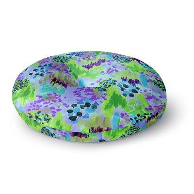 Ebi Emporium Lagoon Love Round Floor Pillow Size: 23 x 23