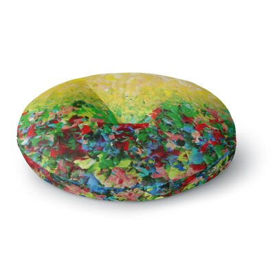 Ebi Emporium My Paintings Round Floor Pillow Size: 23 x 23