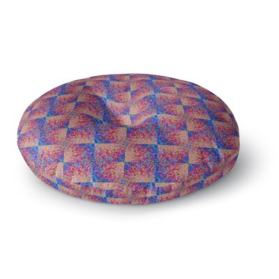 Ebi Emporium Splash Revisited Round Floor Pillow Size: 23 x 23