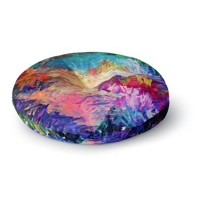 Ebi Emporium Welcome to Utopia Round Floor Pillow Size: 23 x 23